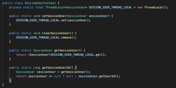 用ThreadLocal来优化下代码吧