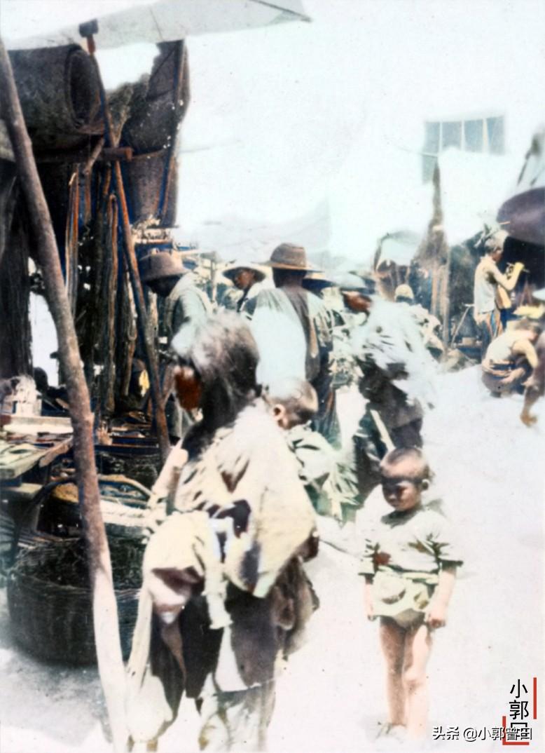 1932年旧照中的陕西:永寿的热闹集市,长武的落魄洞窟寺院
