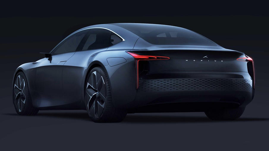 法国造车新势力的超跑,采用氢燃料电池动力,颜值很高