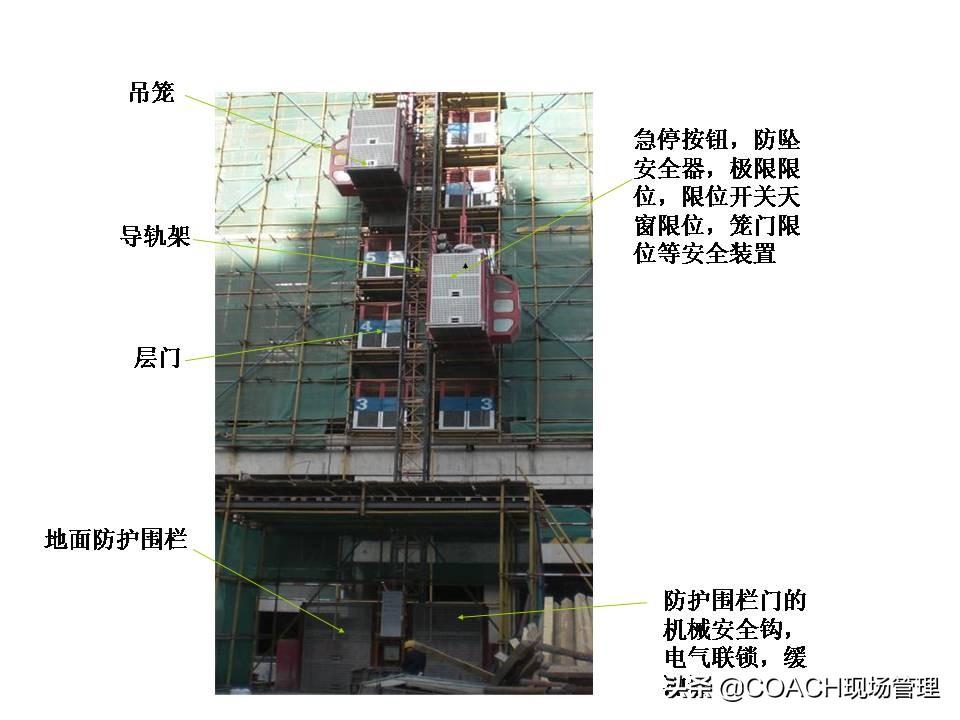 现场管理(安全)-施工升降机基本知识