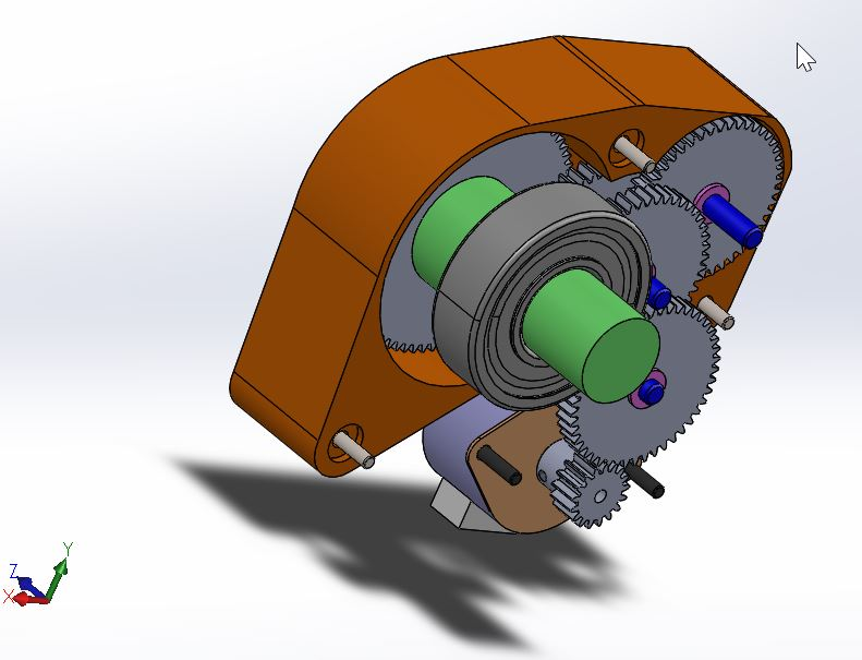 grundfos segev齿轮箱模型3D图纸 STEP格式