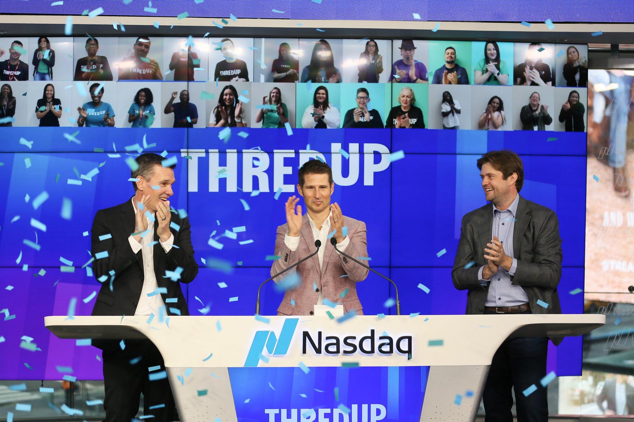 美国版闲鱼ThredUp上市:市值18亿美元,主要用于寄售二手服装