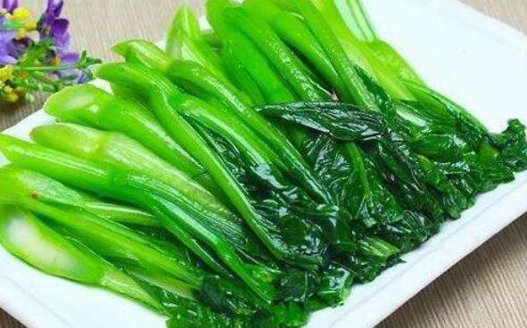 炒上海青做法步骤图 鲜味十足