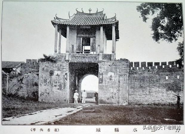 1920年佛山老照片 百年前的西樵山、灵洲山、三水魁岗文塔