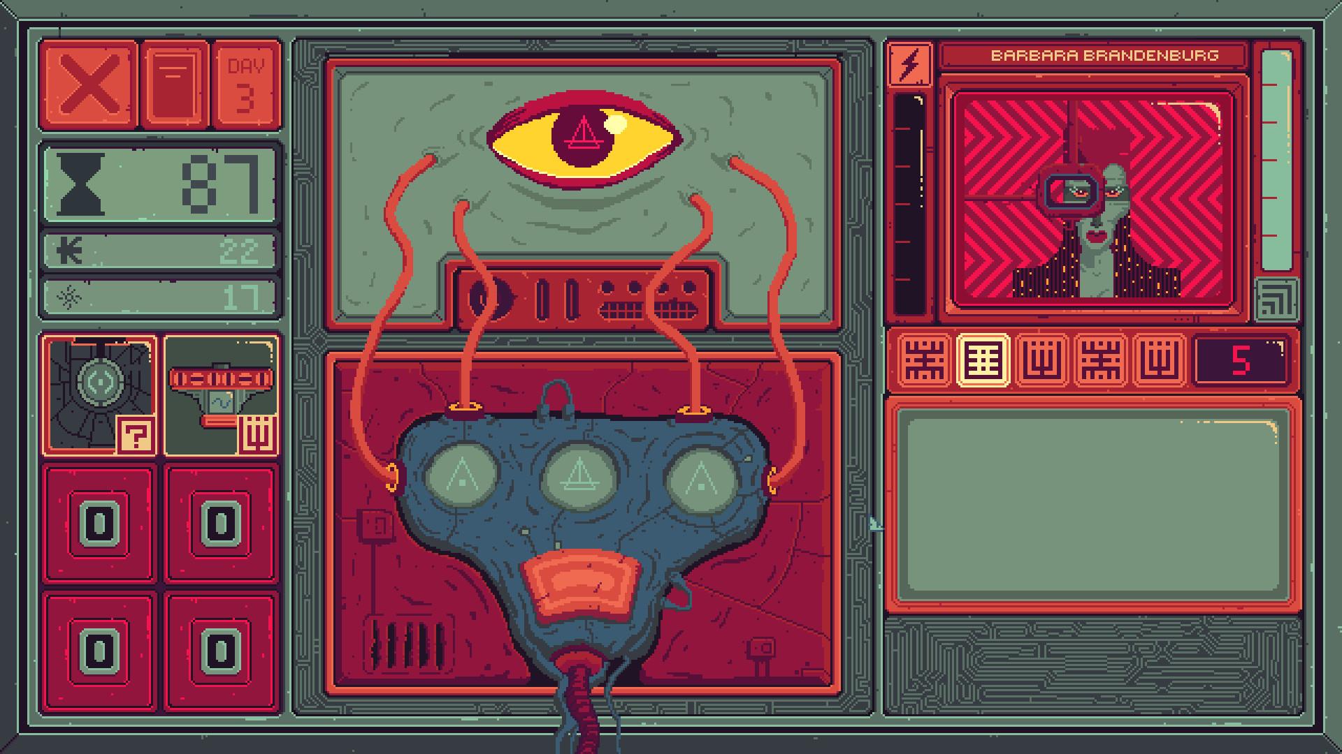 一款反乌托邦题材的意识流游戏