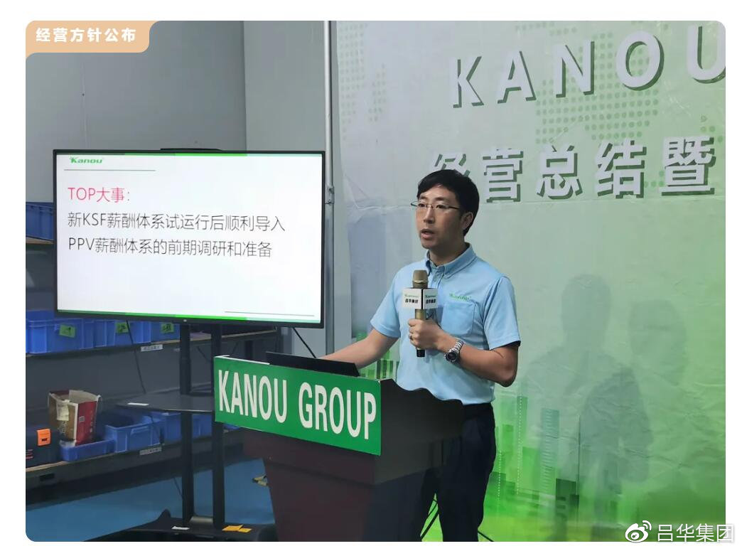 吕华集团2021财年目标、预算暨策略发布会