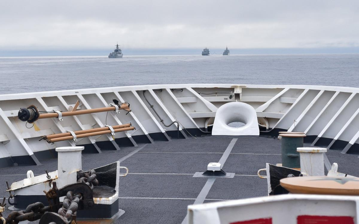 来而不往非礼也,4艘中国军舰现身美国专属经济区