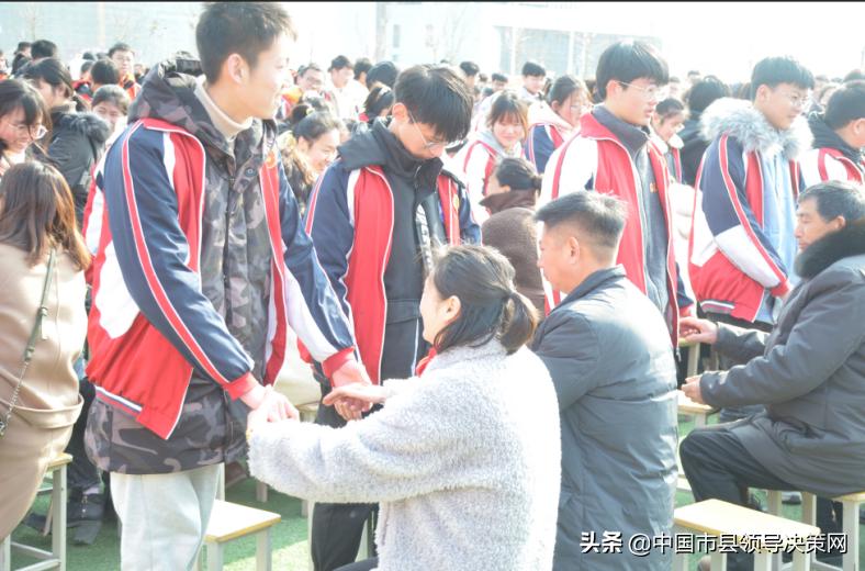 誓师激勇气 拼搏续辉煌—响水县双语实验学校中考百日誓师大会