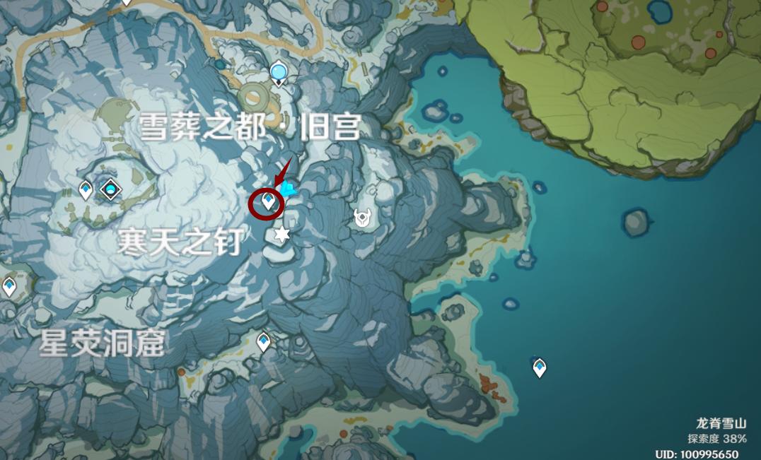 《原神》「1.2雪山版本」雪山密室大门解谜开启流程