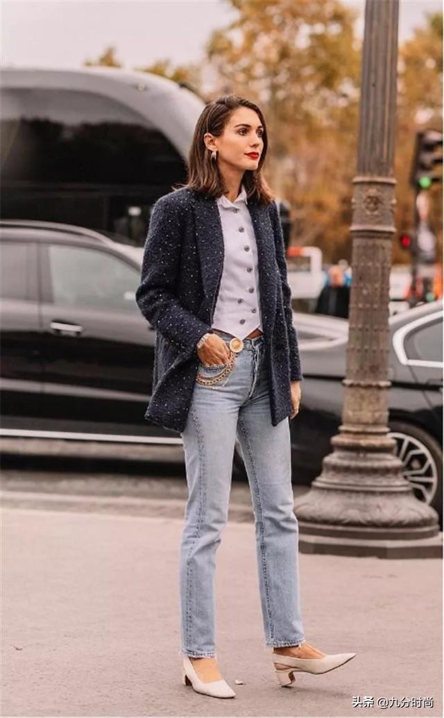 """秋天,小个子少用""""打底裤""""配长大衣,今年这么来穿,时髦更显高"""