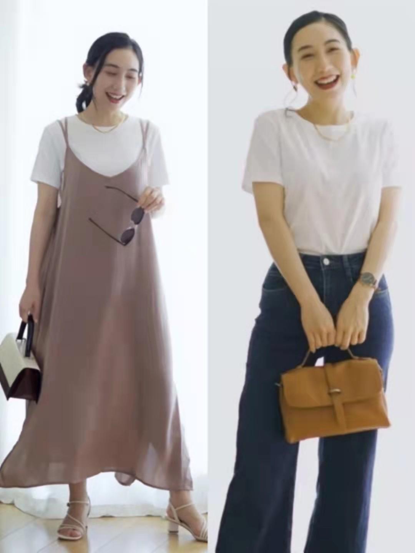 """秋季多穿这4种""""基础款"""",一衣多穿实用又优雅,适合中年矮个子"""