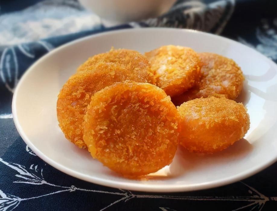 南瓜饼的做法步骤图 南瓜饼更香软