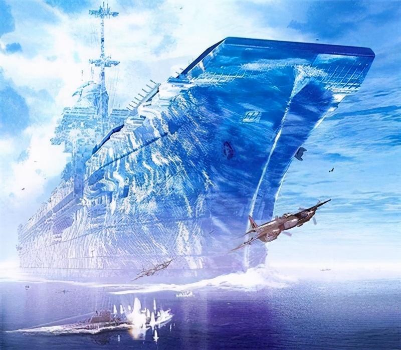 世界最疯狂的航母计划!舰长600米:排水量是福特级航母20倍