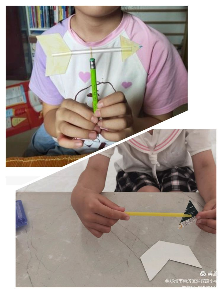 动手快乐有收获-惠济区迎宾路小学一二年级科学暑期作业特写