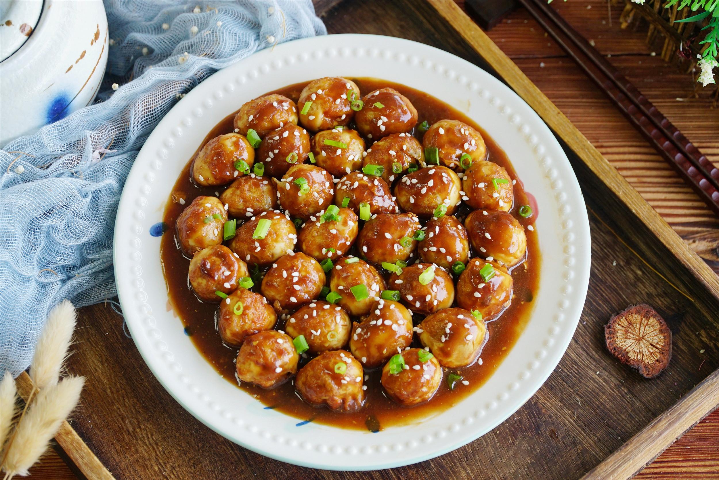 """中秋节家宴,分享一道""""团团圆圆"""",好吃还简单,寓意美满幸福"""
