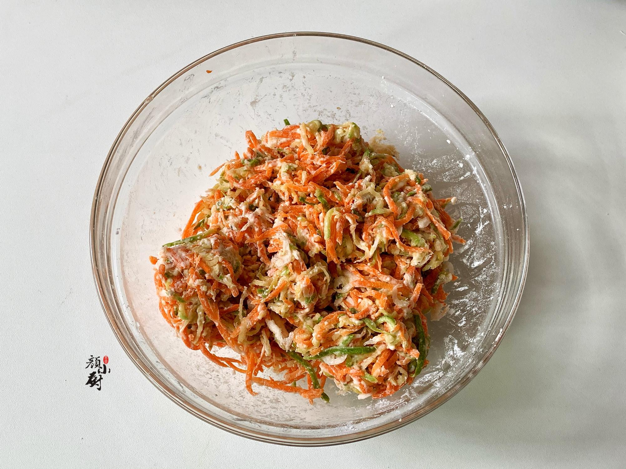 这食材最近吃得多,3元做一盘,搓成小丸子蒸一锅,蘸料吃真香 美食做法 第7张