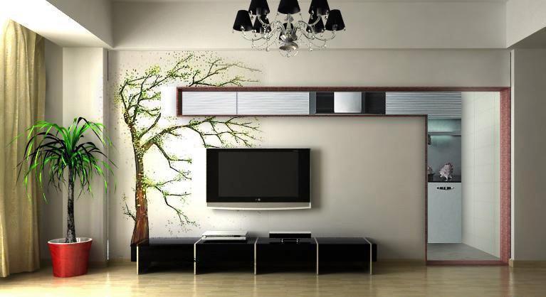 20款电视背景墙效果图,总一款适合你,快看看你喜欢哪个?