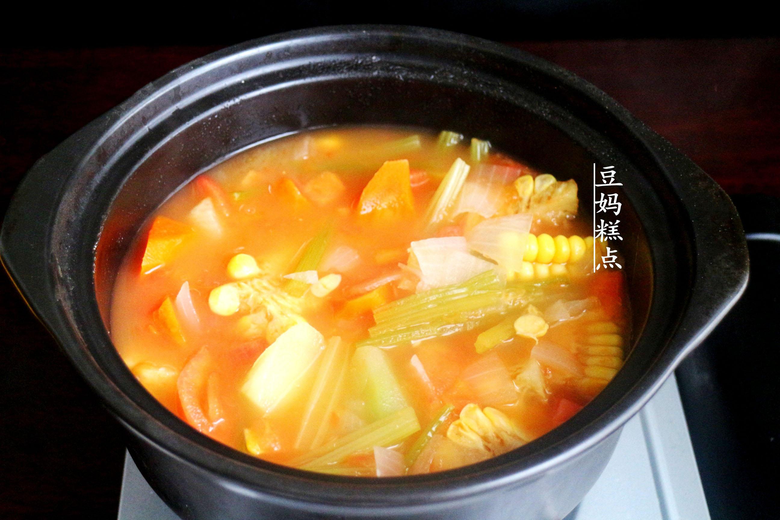 学做瘦身蔬菜汤,健康瘦身,营养不缺 减肥菜谱 第9张