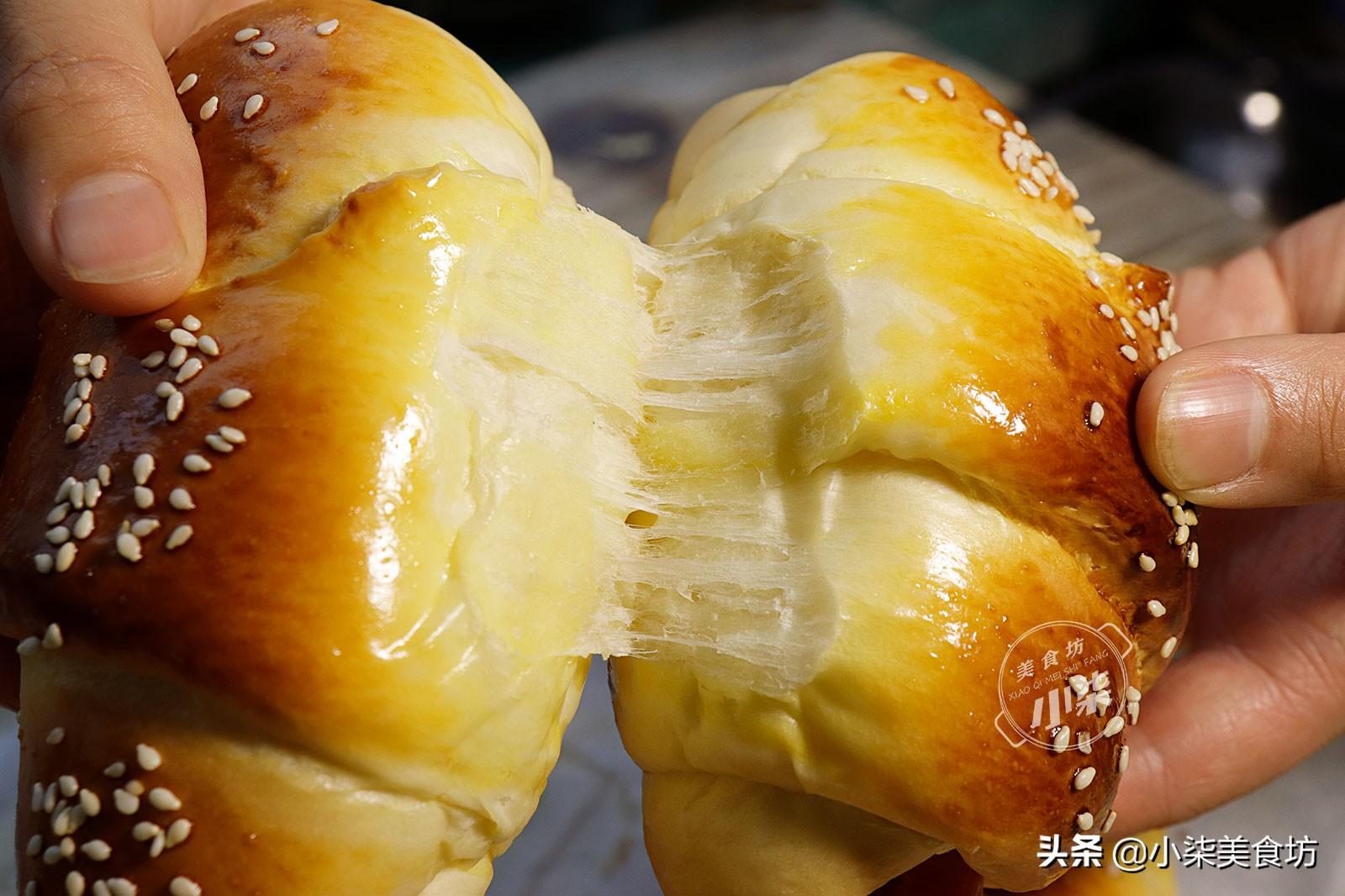 自从学会面粉这样做,我家早餐就没买过,柔软香甜,比面包还好吃