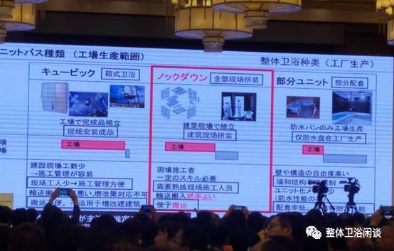 日本同行讲整体浴室(四)整体卫浴的种类