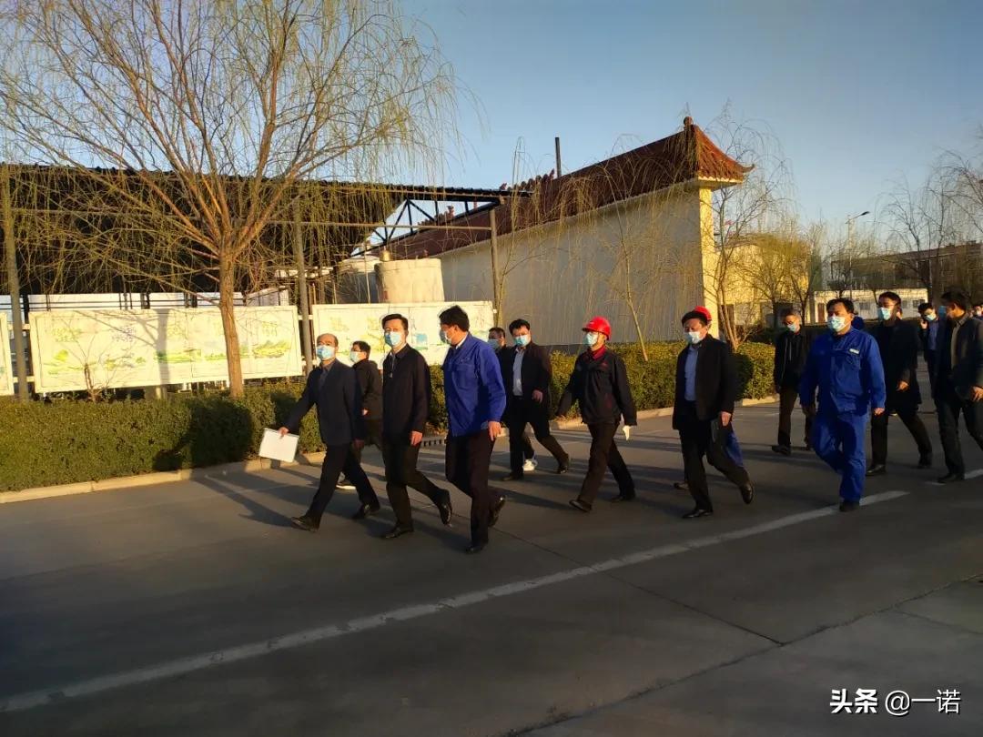 县委书记王峰到山东千亿进行调研