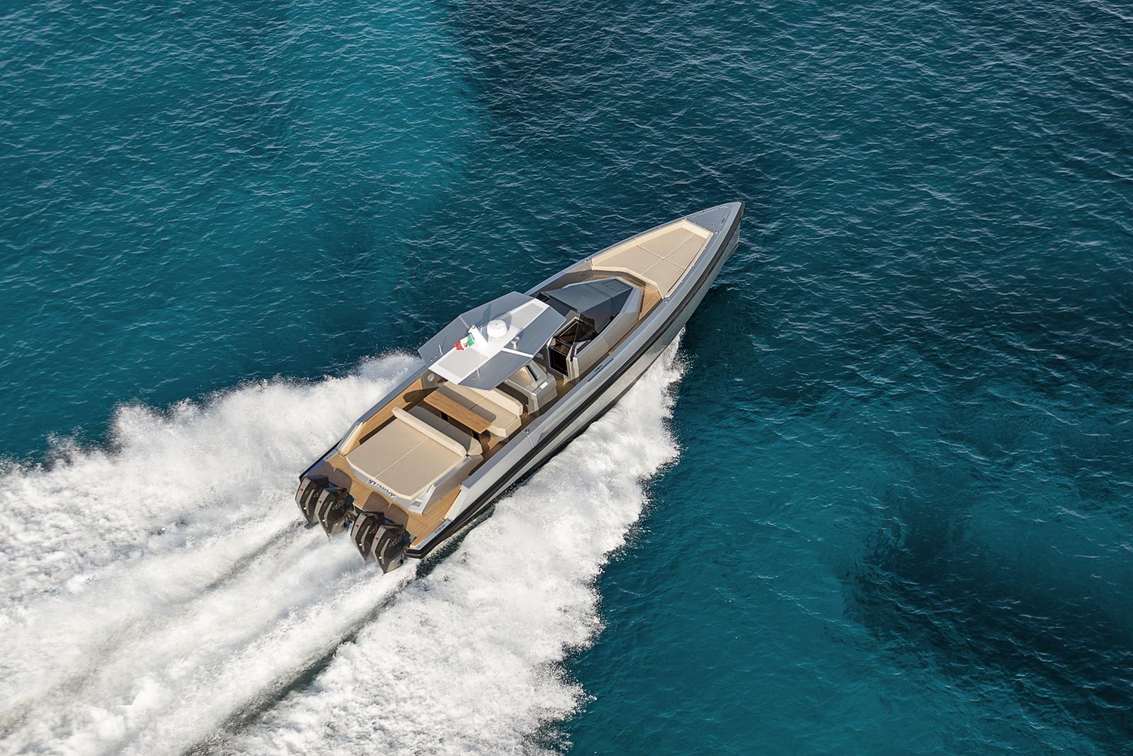 最高时速达55节的48Wally tender X将前往迈阿密游艇展首秀