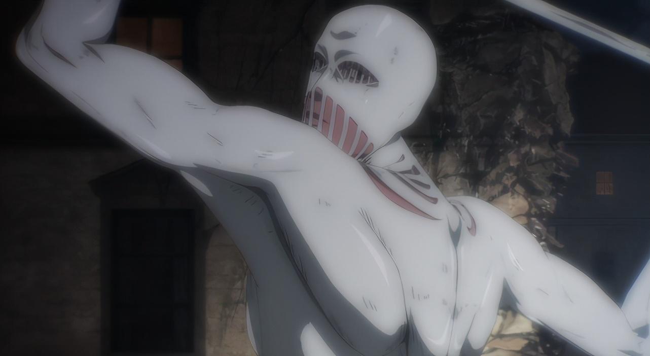 進擊的巨人第一集,暗示了艾倫會吞噬戰錘巨人,65集後回收伏筆