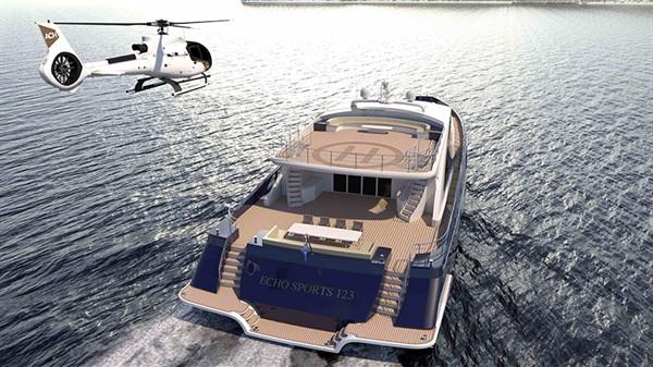澳大利亚超级游艇品牌ECHO推出三体游艇新系列