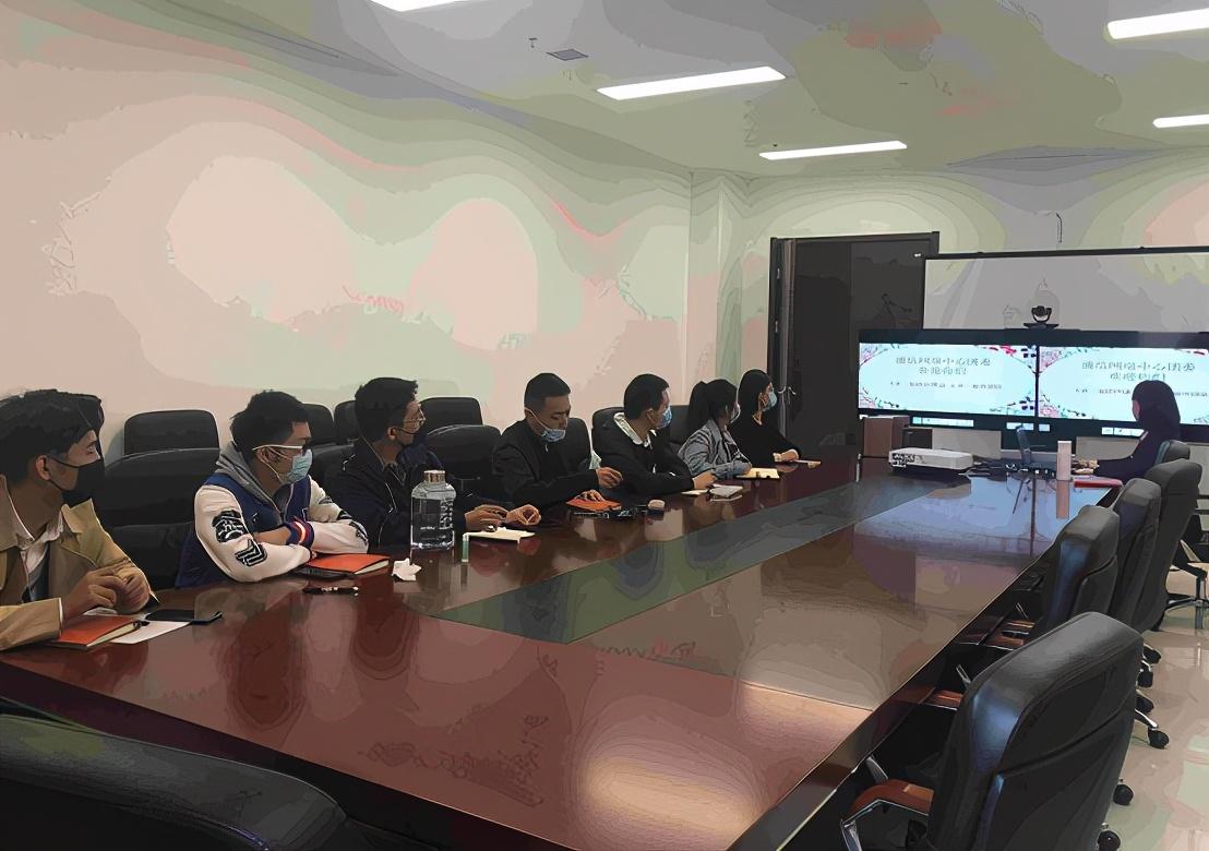 华北空管局通信网络中心团委开展新员工讲团课活动
