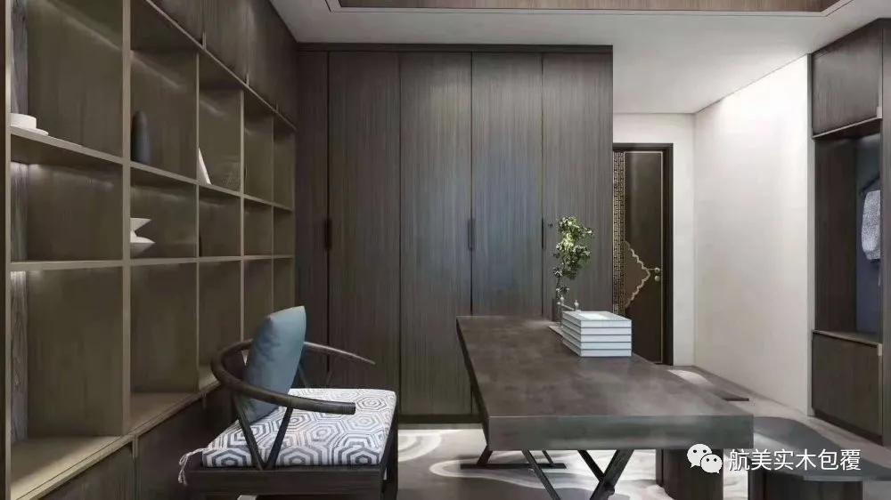 无漆实木平板门——极简与轻奢风格的新宠