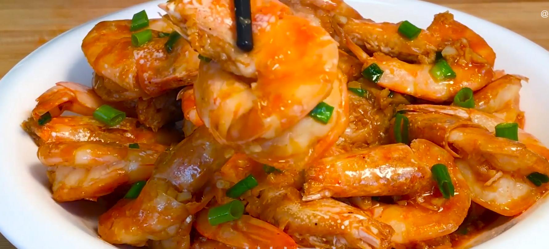 做大虾时,不要直接用水煮,教你正确做法,虾肉鲜嫩入味超好吃 美食做法 第15张