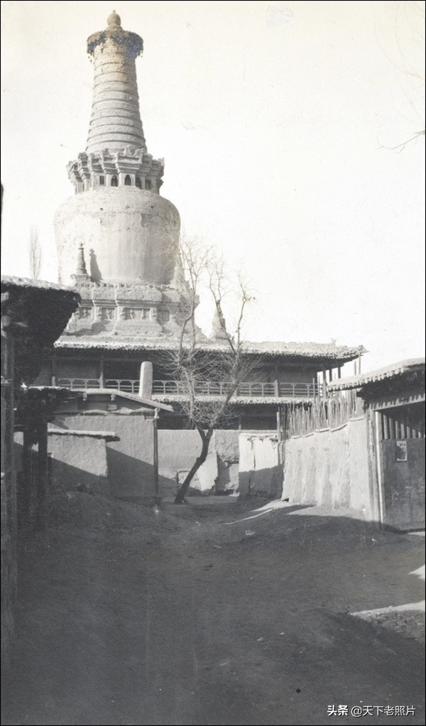 1910年的甘肃甘州(今张掖)真实影像