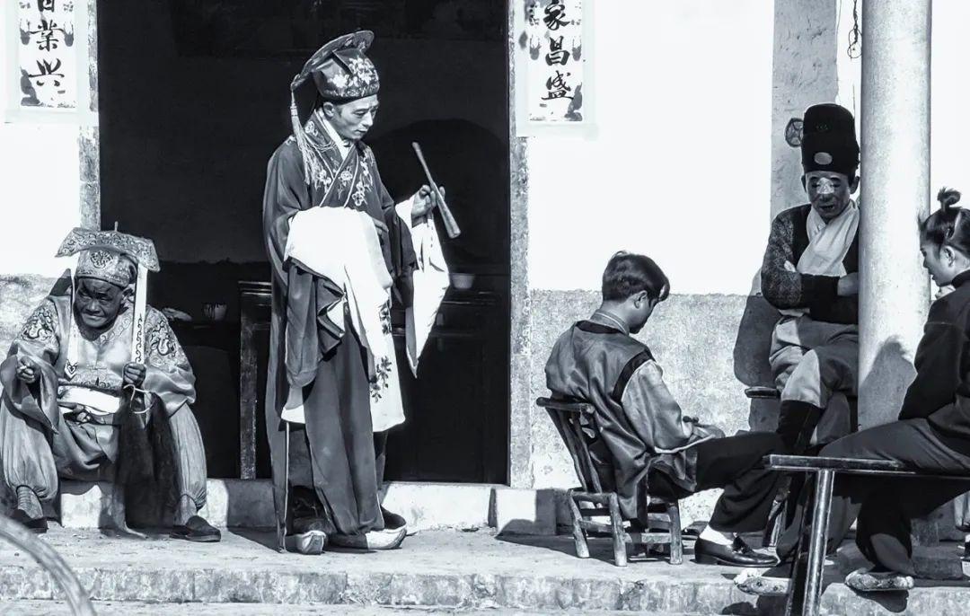 《家乡戏在民间》  黄永年专题摄影第②期
