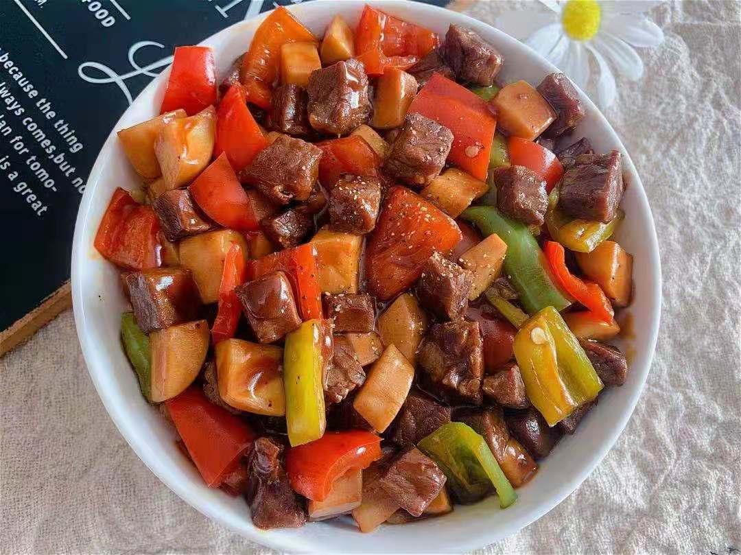 杏鲍菇牛肉拌饭做法步骤图 用来拌饭多少米饭都不够吃