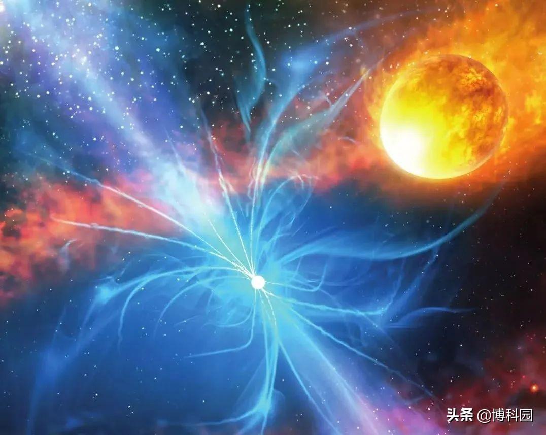 探测到弓形激波脉冲星风星云,距离我们才2057光年