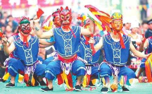 """长安""""傩歌""""万民齐欢:古""""傩仪文化""""从严肃走向唐代的人性开放"""