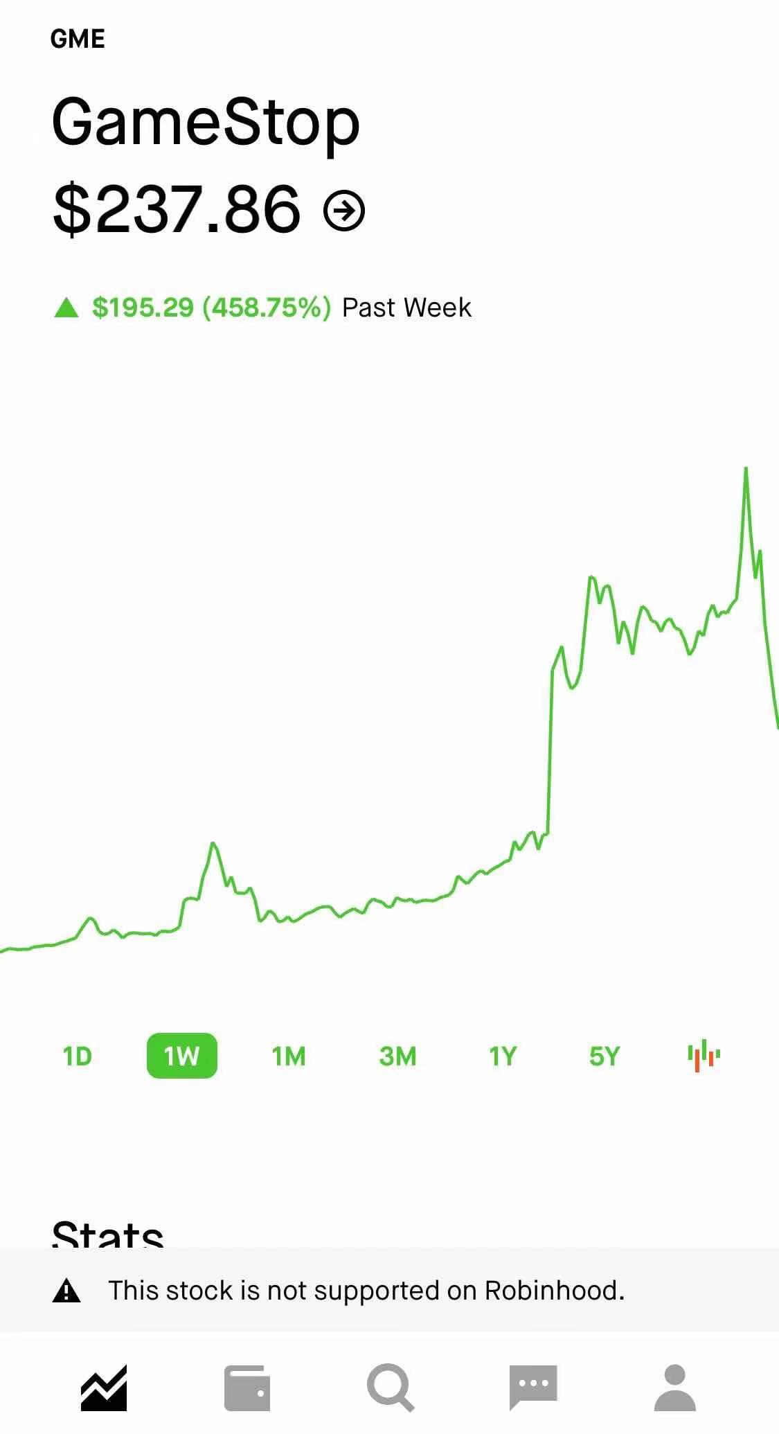 只卖不买!美国证券交易平台罗宾汉限制游戏站和AMC等股票