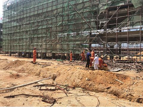 现场丨广东陆河县一工地发生坍塌致7人死亡