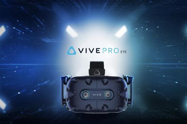 HTC发布最新款Vive Pro Eye VR机器设备:适用眼动跟踪作用