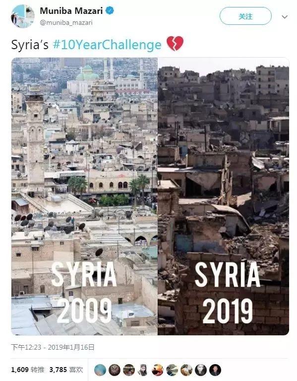 刷爆全球的「十年对比照」,看完泪目!网友:庆幸我们生活在和平的国家
