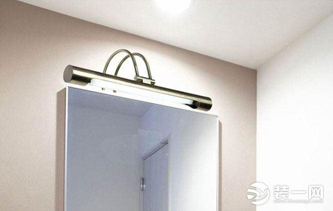 衛生間鏡前燈怎么安裝?鏡前燈安裝步驟及高度是什么?