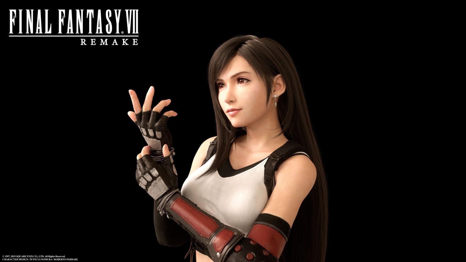 E3:《最终幻想7》重制版蒂法亮相 全球玩家激动万分