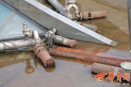 钟鼓楼东广场喷泉破败无人管 喷泉水花何时才能重现?