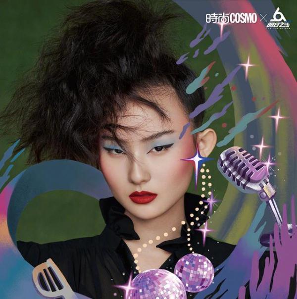 明日之子年代秀,冯希瑶洪一诺绑麻花辫像双胞胎,张钰琪依然很酷