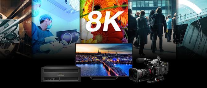 万物皆可5G!夏普将展出世界最大120英寸 8K LCD 电视