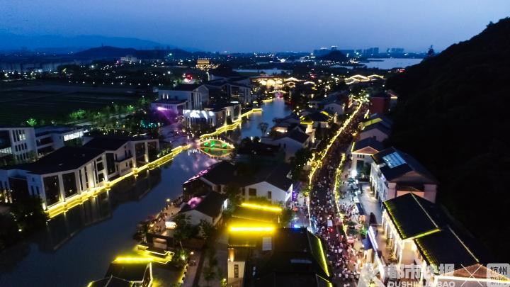 """杭州市最漂亮的城市夜景,集中化集团在湘江!拥江发展趋势造成 的""""夜经济发展趋势""""变化,你去看看下好吗?"""