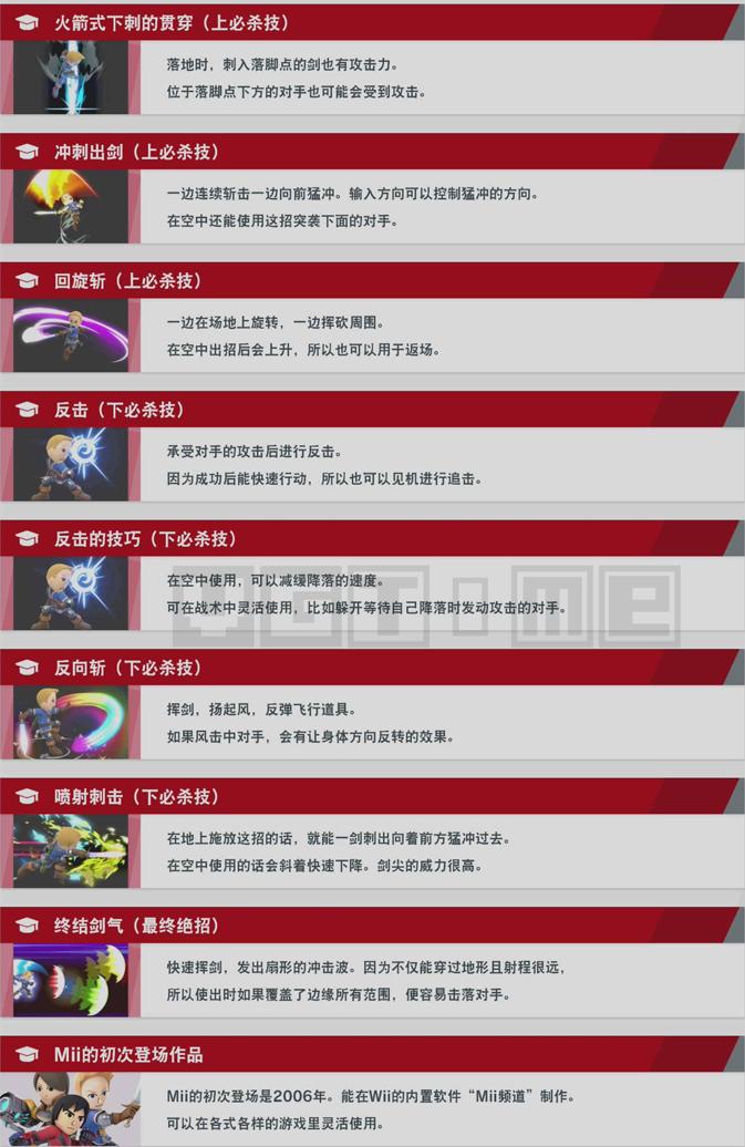 《任天堂明星大乱斗 特别版》角色使用技巧:西施惠、炽焰咆哮虎、Mii三型斗士
