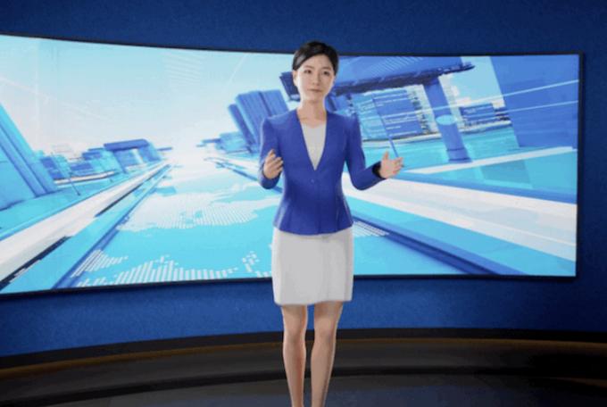 并不是真人版!全世界首位位3D版AI合铺网络主播现身:能随时到处变动服装、变换领型