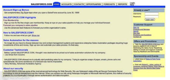 揭秘Salesforce从CRM工具发展成SaaS帝国成才之路