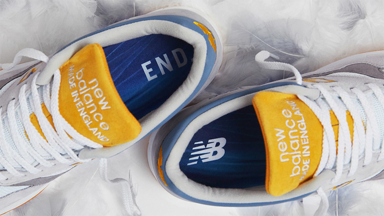 「灰鹭」主题!英国电商 END. x New Balance 1500 即将发售
